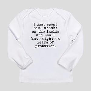 Nine Years On The Inside Long Sleeve T-Shirt
