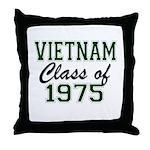 Vietnam Class of 1975 Throw Pillow