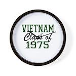 Vietnam Class of 1975 Wall Clock