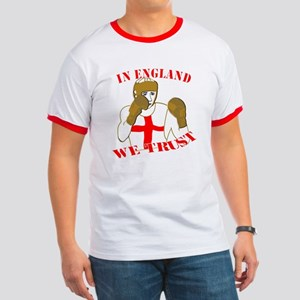In England Boxing We Trust T-Shirt