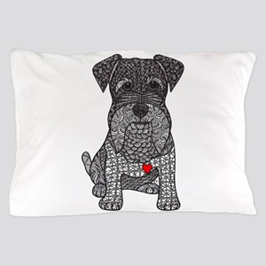 Spunk - Schnauzer Pillow Case