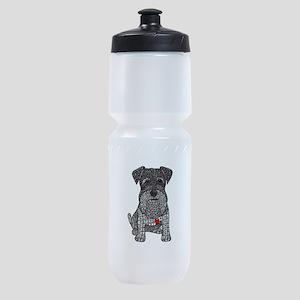 Spunk - Schnauzer Sports Bottle