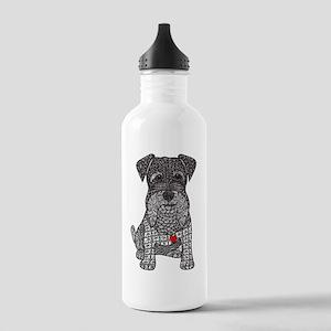 Spunk - Schnauzer Water Bottle