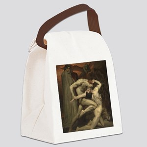 Dante and Virgil in Hell Canvas Lunch Bag