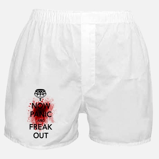 Now Panic and Freakout Boxer Shorts