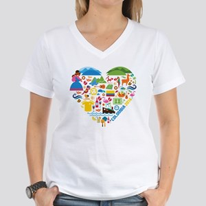 Colombia Soccer (Football) World Cup Heart T-Shirt