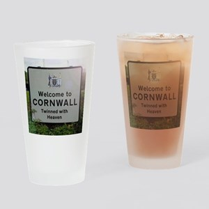 Welcome to Cornwall Drinking Glass
