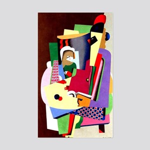 Georges Valmier - The Piano Le Sticker (Rectangle)