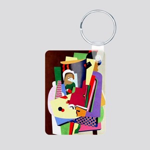 Georges Valmier - The Pian Aluminum Photo Keychain