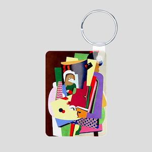 Georges Valmier - The Pian Aluminum Photo Keychain