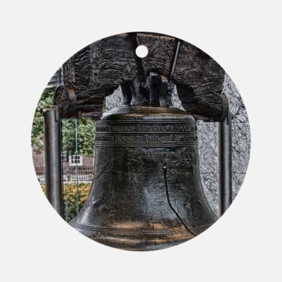 Liberty Bell Ornament (Round)