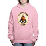 USS MOOSBRUGGER Women's Hooded Sweatshirt
