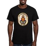 USS MOOSBRUGGER Men's Fitted T-Shirt (dark)
