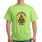 USS MOOSBRUGGER Green T-Shirt