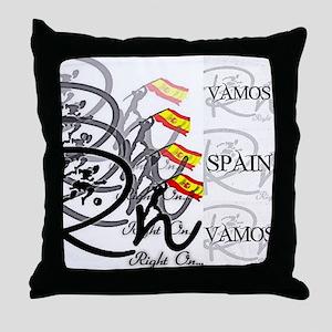 RaightOn Spain Throw Pillow
