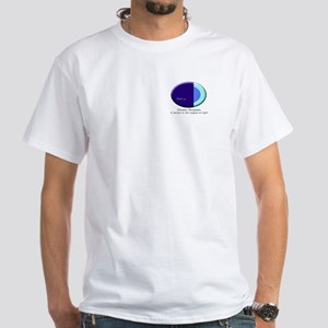 League Of Light Pleiadian Symbol White T-Shirt