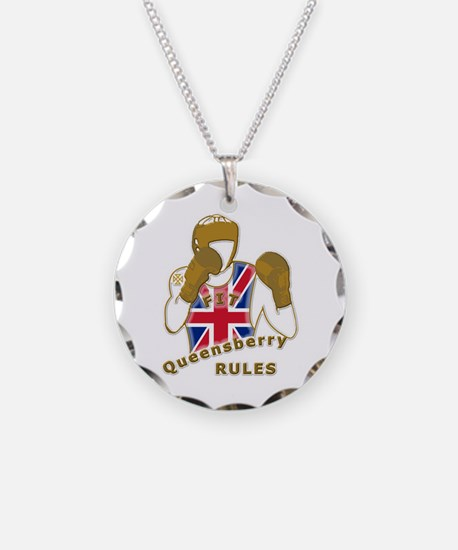 England GB Boxing Necklace