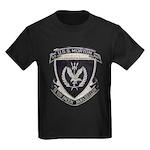 USS MORTON Kids Dark T-Shirt