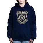 USS MORTON Women's Hooded Sweatshirt