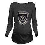 USS MORTON Long Sleeve Maternity T-Shirt