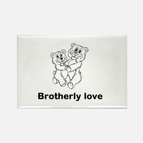 Bright Star Brother Support Magnets