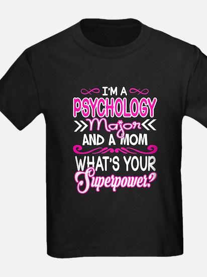 Psychology Major Mom Superpower T-Shirt