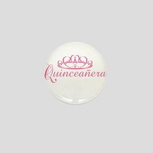 Quinceanera Mini Button