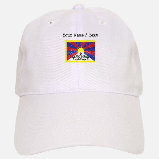 Custom Distressed Tibet Flag Baseball Baseball Baseball Cap