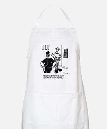 Call A Locksmith, Not a Lawyer Apron
