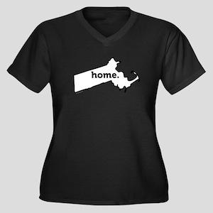 Home-01 Plus Size T-Shirt