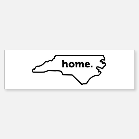 Home North Carolina-01 Bumper Bumper Bumper Sticker
