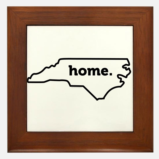 Home North Carolina-01 Framed Tile