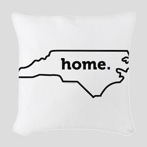 Home North Carolina-01 Woven Throw Pillow