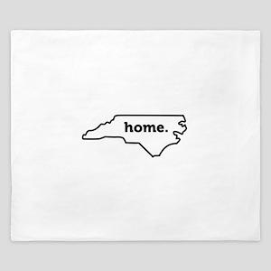 Home North Carolina-01 King Duvet