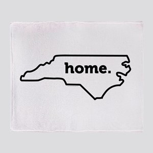 Home North Carolina-01 Throw Blanket