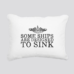 Some Ships Are Designed Rectangular Canvas Pillow