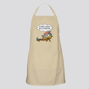Goodbye Tension Hello Pension Bbq Apron For Men