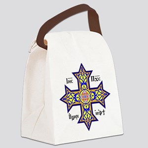 """Coptic Cross"" Canvas Lunch Bag"