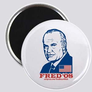 Fred Anti-Hillary Magnet