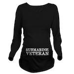 Submarine Veteran Long Sleeve Maternity T-Shirt