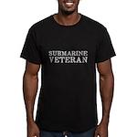 Submarine Veteran Men's Fitted T-Shirt (dark)