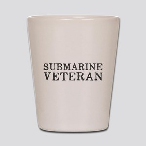 Submarine Veteran Shot Glass