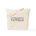 Submarine Veteran Tote Bag