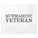 Submarine Veteran King Duvet