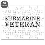 Submarine Veteran Puzzle