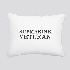 Submarine Veteran Rectangular Canvas Pillow