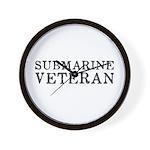 Submarine Veteran Wall Clock