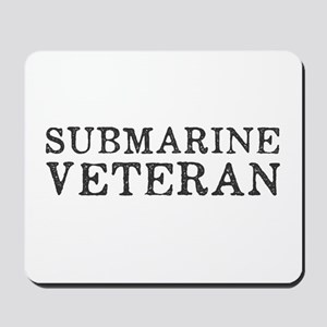 Submarine Veteran Mousepad