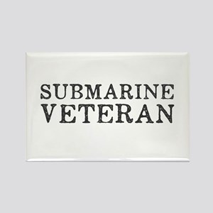 Submarine Veteran Rectangle Magnet