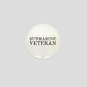 Submarine Veteran Mini Button